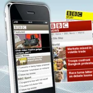 BBC revamps mobile homepage
