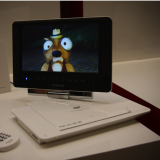 Toshiba launches new portable DVD players for 2009