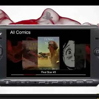 Sony to launch PSP comic service?