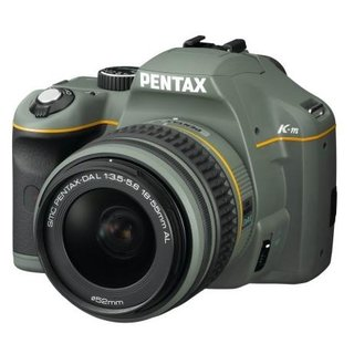 Limited edition olive green Pentax K-m announced