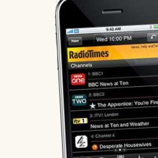 Radio Times launches iPhone app