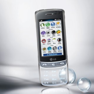 Carphone Warehouse gets see-through LG GD900