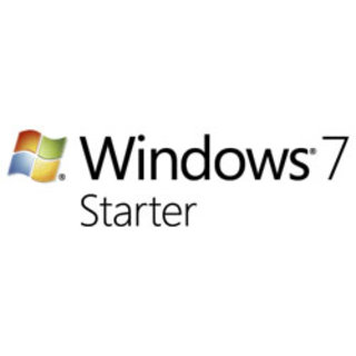 Microsoft Windows 7 Starter edition u-turn