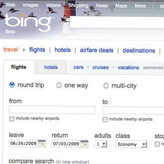 Microsoft launches Bing Travel