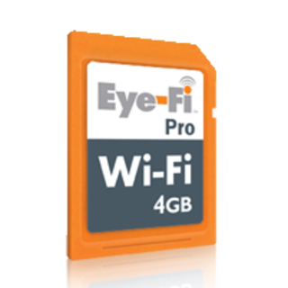"Eye-Fi launches ""Pro"" wireless SD card"