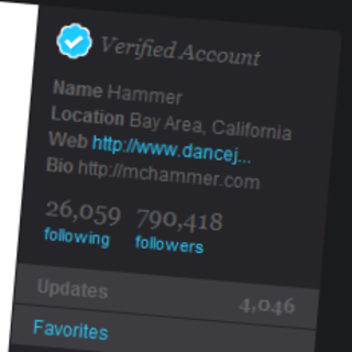 Twitter verified accounts go live