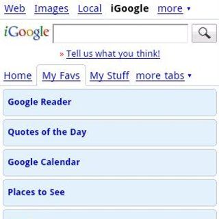 iGoogle upgraded on Android and iPhone