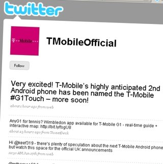 T-Mobile announces G1 Touch