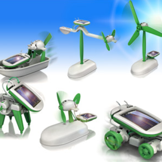 IWOOT offers 6-in-1 Solar Robot Kit