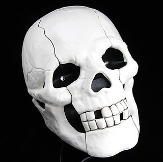 Novelty skull-shaped phone launches