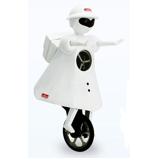 Murata Girl - robot unicyclist
