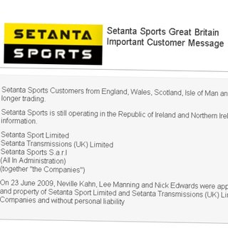 Setanta Sports goes into administration
