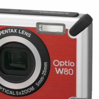 Pentax Optio W80 camera plays tough card