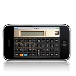 HP offers retro calculator iPhone app