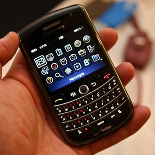 BlackBerry Tour priced and dated on Verizon