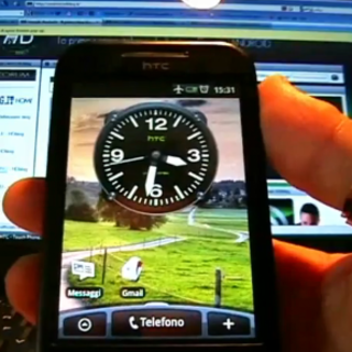 VIDEO: HTC Sense comes to HTC G1...