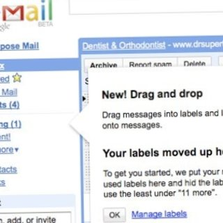 Gmail makes changes to labels