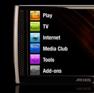 Archos dates mystery Android internet media tablet