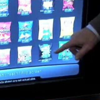 VIDEO: Samsung shows 21st century vending machine