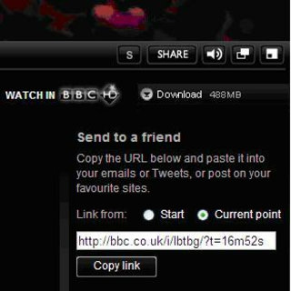 BBC iPlayer to let you link directly to funny moments