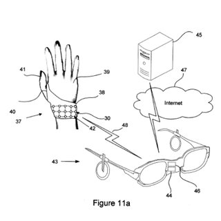 Nokia patents wearable phone controls