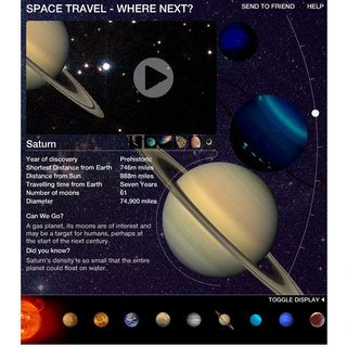 Sky News offers interactive Solar System