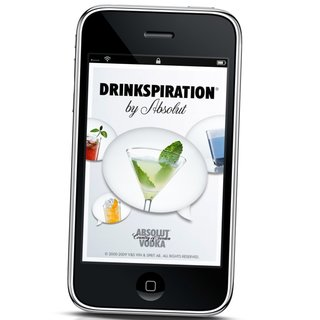 ABSOLUT launches drinks app for iPhone and Android