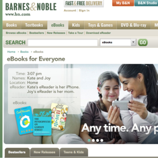 Barnes and Noble leapfrog Amazon with new ebook offering