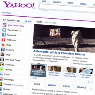 Yahoo! rolls out new homepage