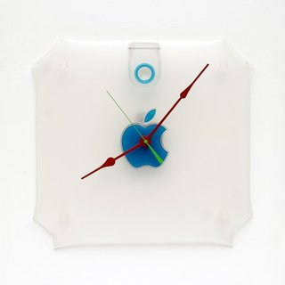 Recycled Mac clocks for sale on Etsy