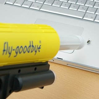 Fly-Goodbye vacuum gun available