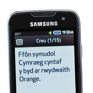 Orange to offer Welsh language Samsung S5600