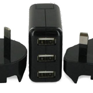 Exspect launches triple USB travel charger
