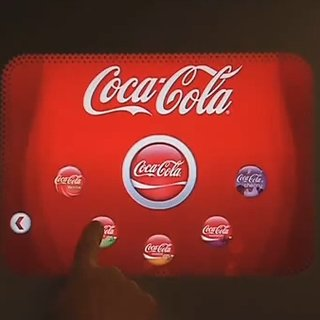 "VIDEO: Coca-Cola's ""Freestyle"" drinks machine"