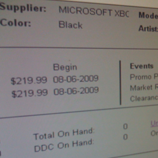 Pricing leaks for Zune HD