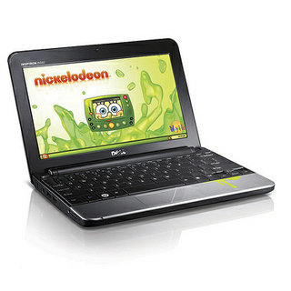 Dell Inspiron Mini Nickelodeon Edition laptop goes after the kids