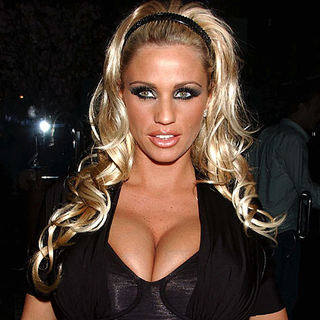 Katie Price is dangerous, says McAfee