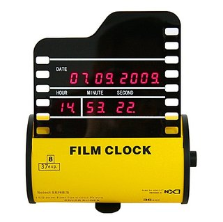 Roll film clock launches for shutterbugs