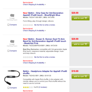 Best Buy goes early with iPod touch 3rd gen accessories