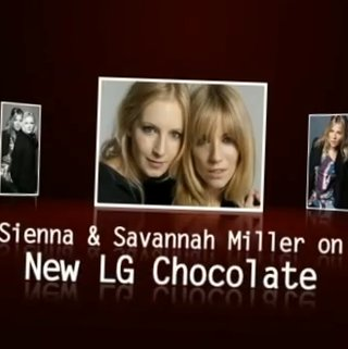 VIDEO: Sienna and Savannah Miller review the LG Chocolate BL40