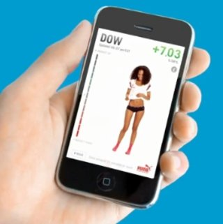 VIDEO: Puma iPhone app sees models strip to stock index