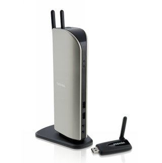 Toshiba dynadock wireless U docking station launches