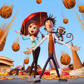 Cloudy with a Chance of Meatballs in 3D tops US box office