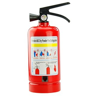Fire extinguisher phone launches