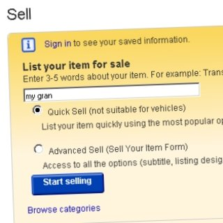 10-year-old attempts to sell gran on eBay