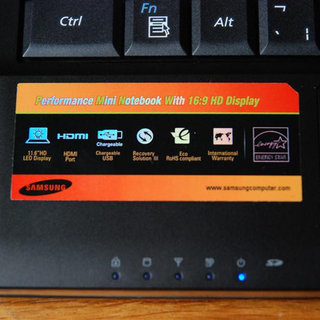 Samsung N130, N140 and N510 netbooks