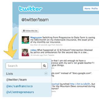 Twitter announces Lists functionality