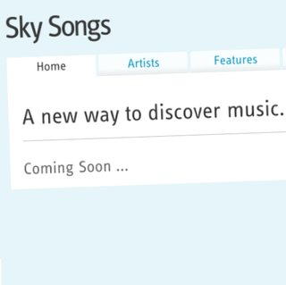 Unlimited music service Sky Songs hits beta
