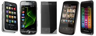 Five Windows Mobile 6.5 phones to watch out for