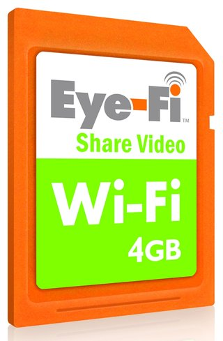 Eye-Fi wireless memory cards to launch in the UK